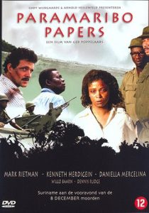 DVD-hoesje Paramaribo Papers