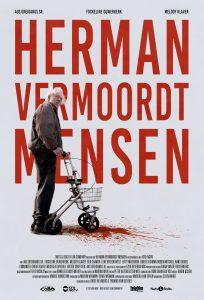 Affiche Herman vermoordt mensen